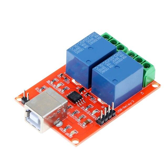 A152 5 V USB Rela Programmierbare DC Computer Motorsteuerung ...