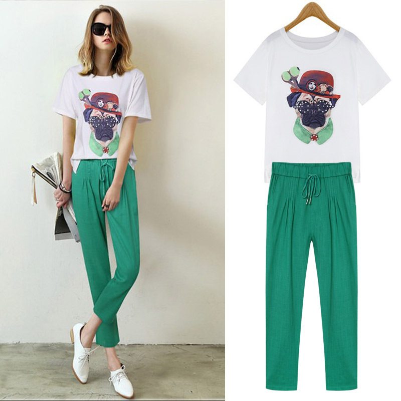 green women pants - Pi Pants
