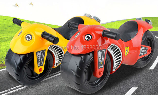 red yellow sliding motorcycle kids ride on toys multifunctional ride toy baby toy car to ride