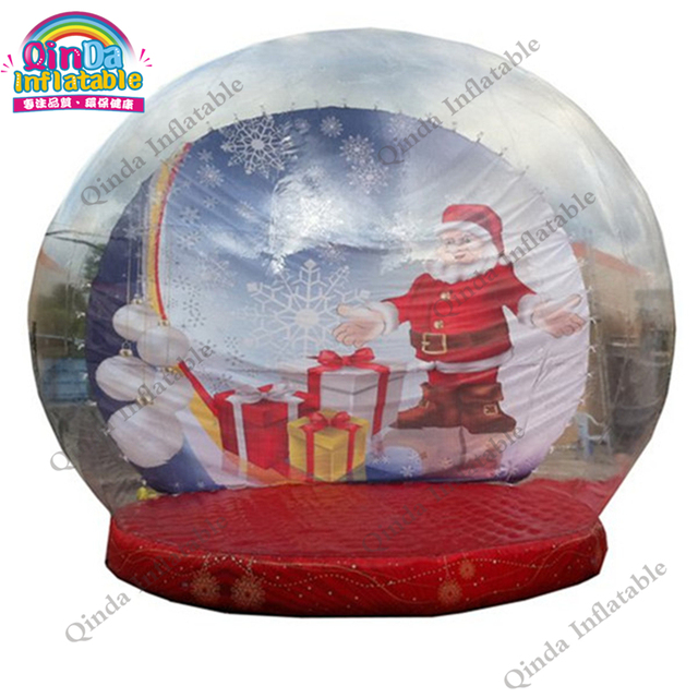 Globes For Sale >> Us 480 0 Christmas Photo Inflatable Snow Globes For Sale Christmas Figures Bubble Snow Globes In Inflatable Bouncers From Toys Hobbies On