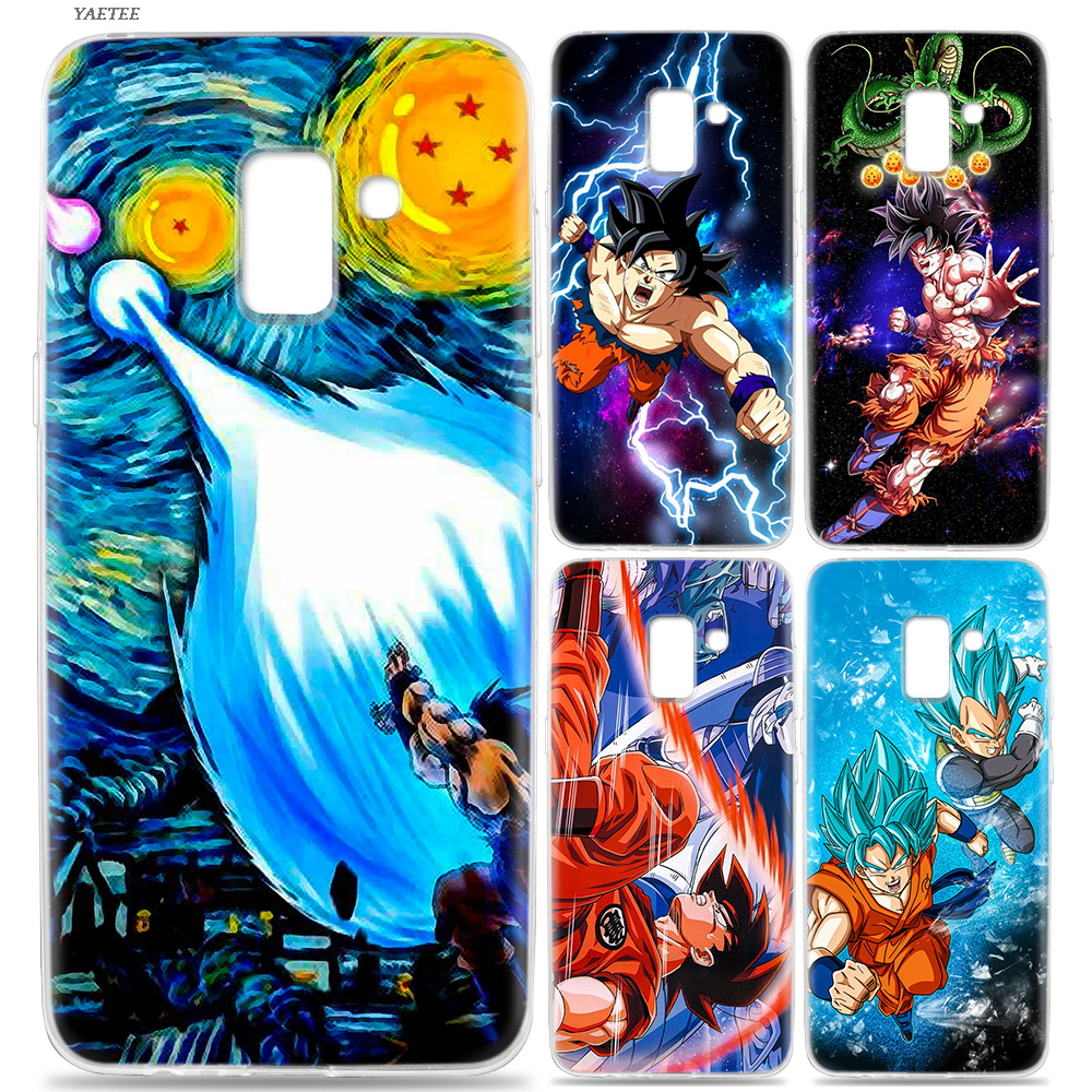 Fitted Cases Cellphones & Telecommunications Active For Samsung Galaxy J8 J7 J6 J5 J4 J3 Plus Prime 2018 2017 2016 Black Silicone Phone Case Dragon Ball Goku Style