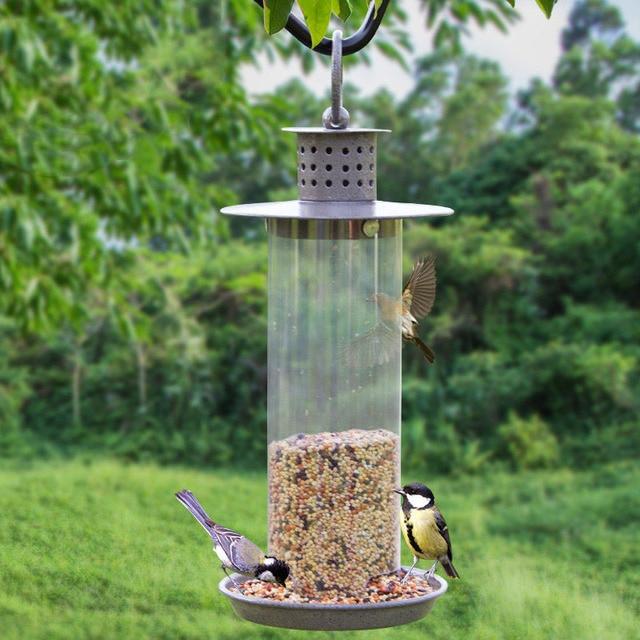 mangeoire pour oiseaux du jardin simple fabrication duune pour oiseaux rcupu le jardin du zen. Black Bedroom Furniture Sets. Home Design Ideas
