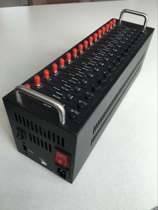 Wavecom 16 портов Q2303 пул модемов с самым дешевым gsm модуль sms масса gsm-модем SIM коробка SIM бассейн ...