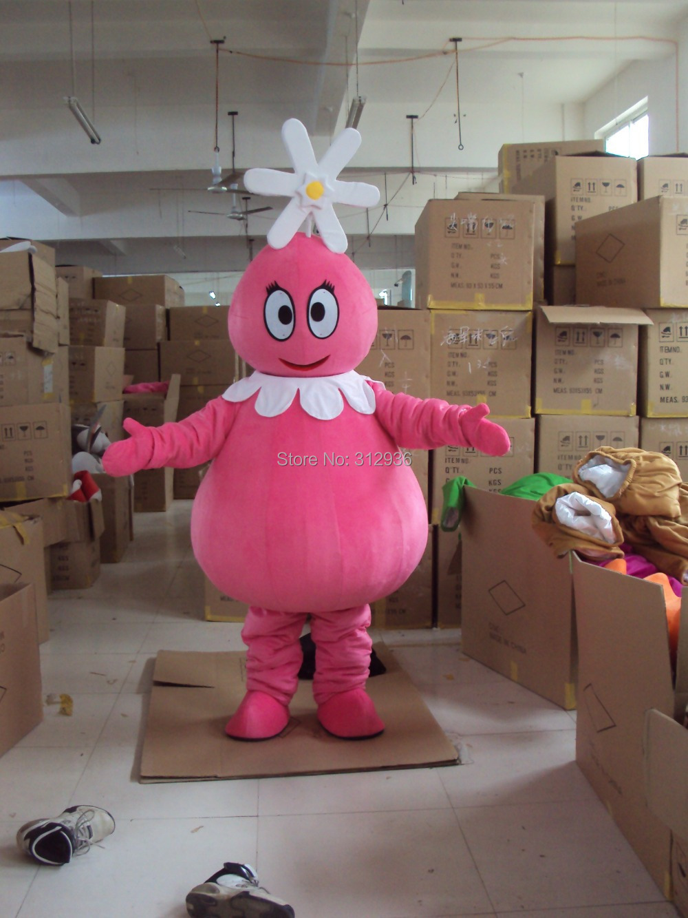 Новинка 2017 года Маскоты костюма взрослых Костюм характера Маскоты как Мода Бесплатная доставка Косплэй в для девочек в цветочек