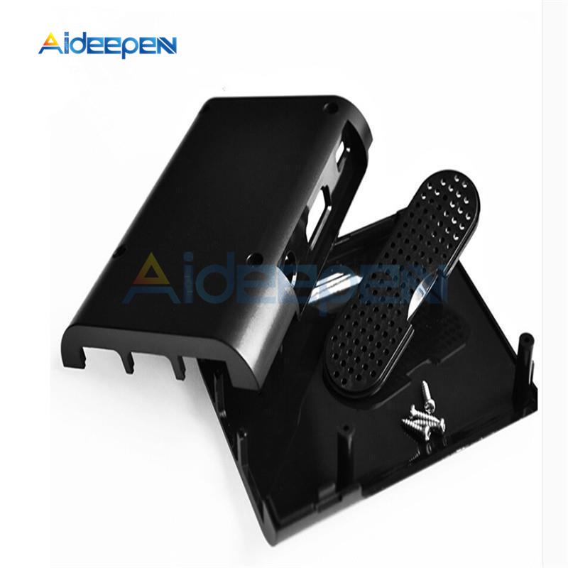 ABS Plastic Case Cover Shell Enclosure Box For Raspberry Pi 2 Model B/& Pi 3 2 ^P