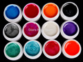 New DIY New 12 PCS Mix Colors Pearl UV Builder Gel Acrylic Nail Art Sets for Nail Tip