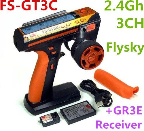 Оригинальный Flysky FS-GT3C 2.4 ГГц 3ch AFHDS автоматическая частота прыжков цифровая Системы с gr3e приемник для Р/У машинки лодка