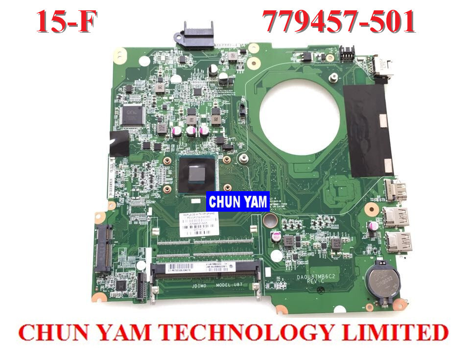 ФОТО NEW ORIGINAL LAPTOP NOTEBOOK MOTHERBOARD SYSTEM BOARD 779457-501 FOR HP PAVILION TOUCHSMART 15 15-F INTEL W/ N2830 CPU SERIES