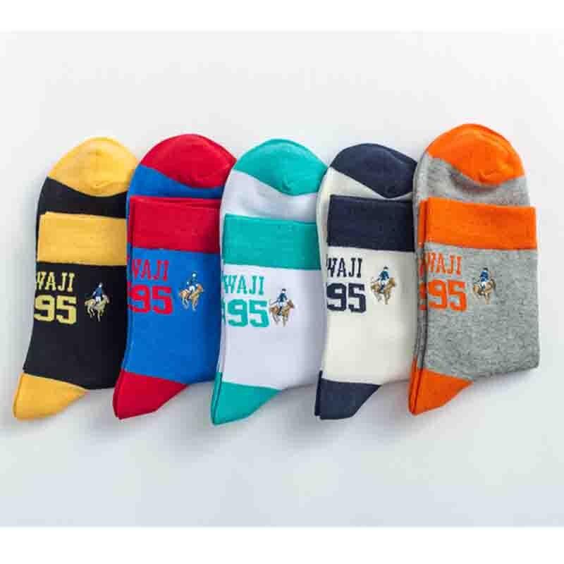 NEW 5 Pairs Mens sock lot 100% cotton warm Casual movement classic Dress Socks
