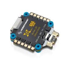 HobbyWing XRotor Micro 60A 4 в 1, 5 В, BEC выход 3 6S, Lipo, DShot1200, интегрированный 3 6S ESC для мультикоптера DIY