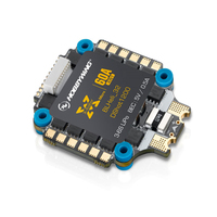 NEW HobbyWing XRotor Micro 60A 4in1 5V BEC output 3 6S Lipo BLHeli 32 DShot1200 Integrated 3 6S ESC for DIY Multicopter
