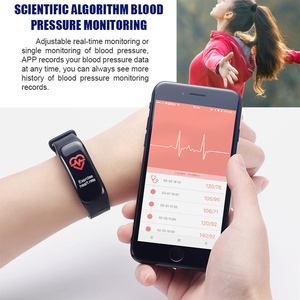 Image 4 - Imosi Smart bracelet C1s Color screen Waterproof wristband heart rate monitor Blood pressure measurement Fitness tracker band