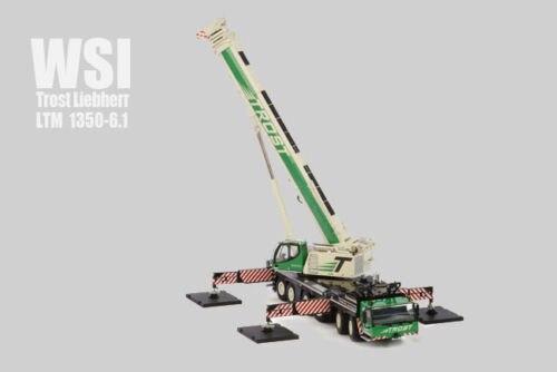 WSI,Trost, Liebherr, LTM, 1350-6.1, Mobile, Crane, 1/50, DieCast, Model, 01-1676