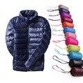 Женское зимнее пальто  Ультралегкая куртка-пуховик с белым гусиным пухом  размер 5XL  6XL  7XL