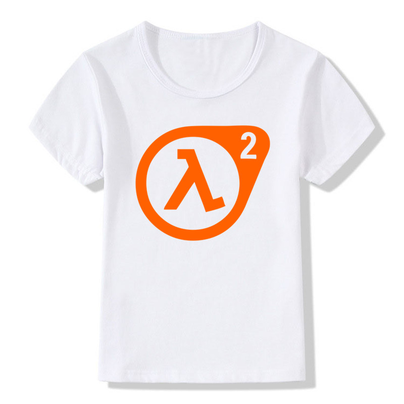Girl and Boys Tshirt Print Half Life 3 T-shirt Children Short Sleeve O-Neck Funny T shirts Casual Great Baby Tops Kids Clothes