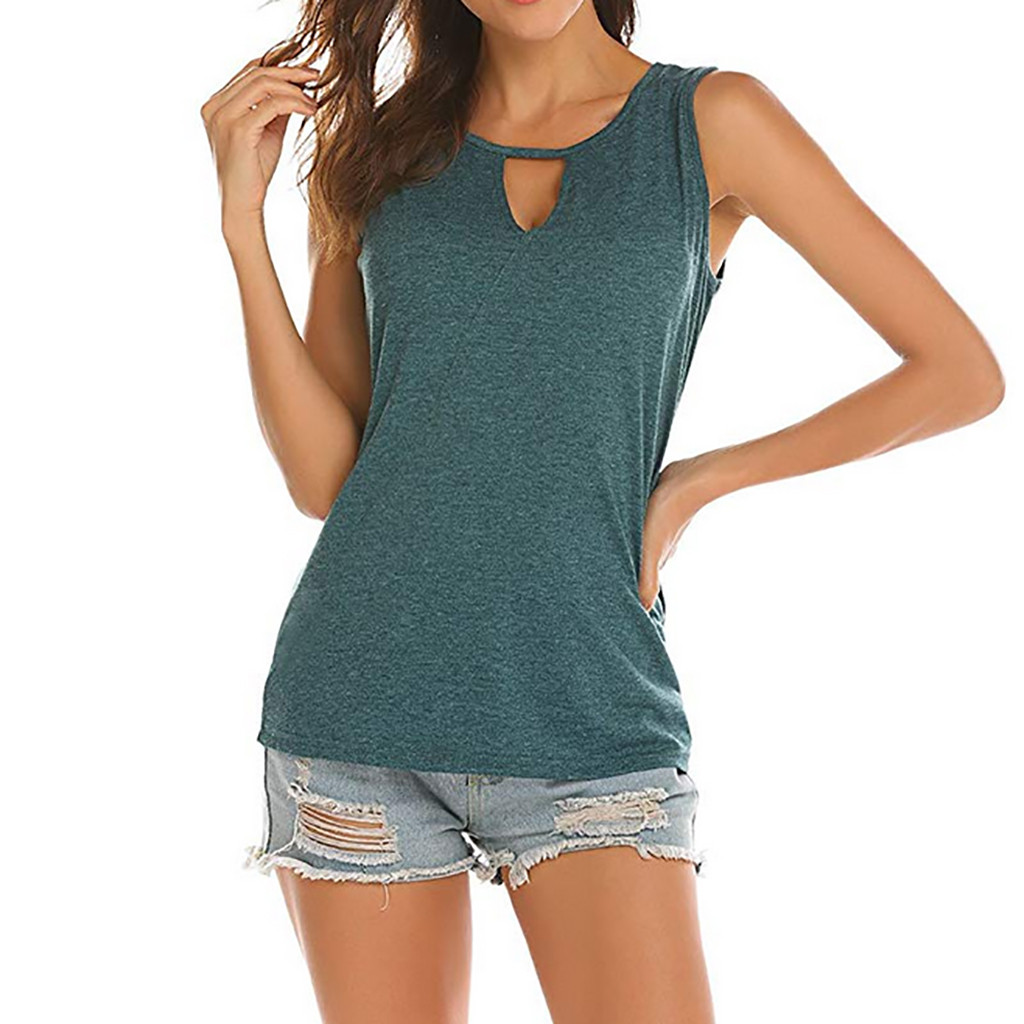 Sleeveless Women   Blouses   High Quality Backless Tops Sleeveless   Blouse   Sexy Summer   Shirt   2019 new women's   blouses     shirt   top #15