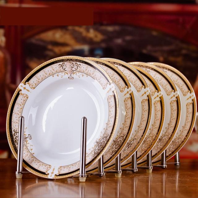 Moderno 6 pz Jingdezhen Arte Ceramica Da Tavola Delle Famiglie 8 ...