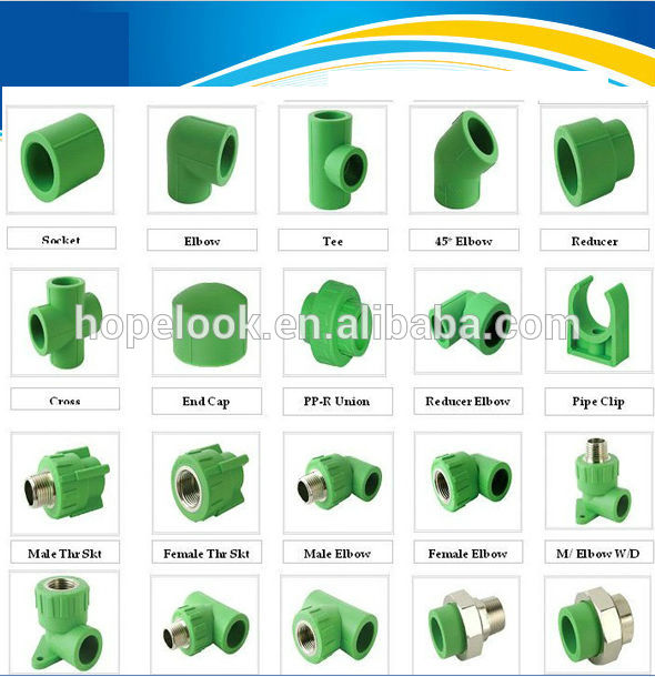 China suppliers high quality ppr pipe fittings male female