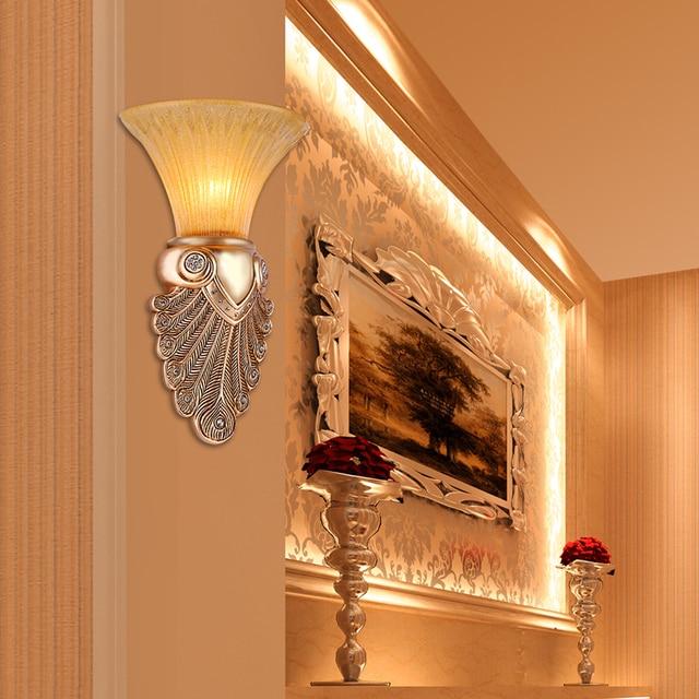 Römischen Stil Antike Wandleuchte Badezimmer Vintage Spiegel Licht Retro  Led Wandleuchte Glasschirm Schlafzimmer Wandleuchte E14 Arandela