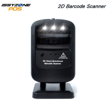цена на IssyzonePOS IOBC030 Barcode scanner 1D/2D Omnidirectional Bar code reader USB Desktop QR barcode Scanner Plug and Play Scanner
