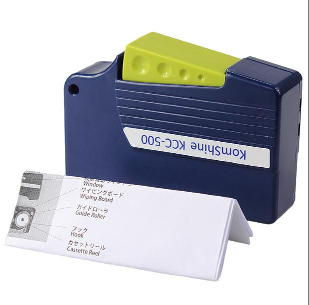 Fiber optic cleaner, Fiber scrubber, Non-fiber cleaning pen, Fiber cleaning tape box core random color