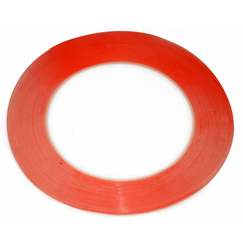 New red 3M 1mm X 25M Scotch red 3M Double Sided Tape for Ipad 1 Ipad 2 Ipad 3 ipad 4 mobile repair fix free shipping