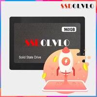 SSDOLVLO высокая скорость 1 ТБ 2,5 sata III 6 ГБ/сек. SATA3 SSD 960 ГБ 960 ГБ 1 ТБ SSD внутренний твердотельный жесткий диск sata3.0 1 ТБ HDD