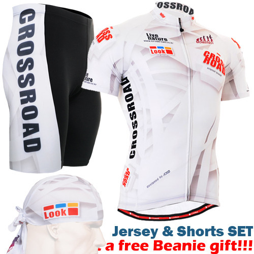 ФОТО 2016 live to ride ride to live Fashionable Mens Cycling Jersey Shorts Set white Quick-dry Ciclismo Jerseys Ropa Maillot Clothes