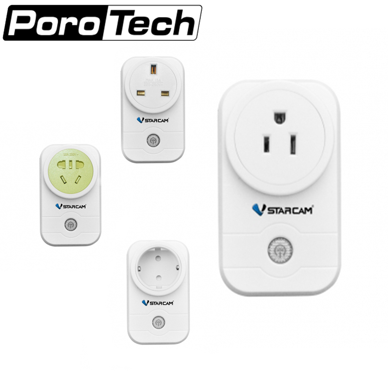WF831 EU Plug Smart WiFi Power Socket Wall Plug Intelligent Home Control With Phone APP Remote Control-White free shipping