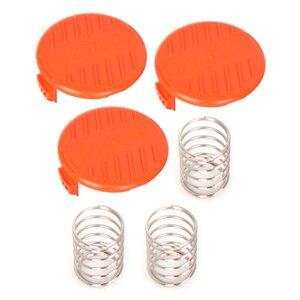 3 шт., игровые соломенные крышки для уборки сорняков, крышки, совместимые с Black Decker String Trimmer, сменные детали для кромки