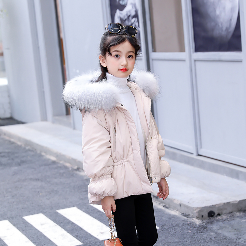 XYF6011 Girls Kids Autumn Winter Down Jackets 80% Duck Down baby Winter Jacket Down Coat Keep Warm Outerwear 3-12 years Coat xyf8831 girls kids autumn winter down jackets 80
