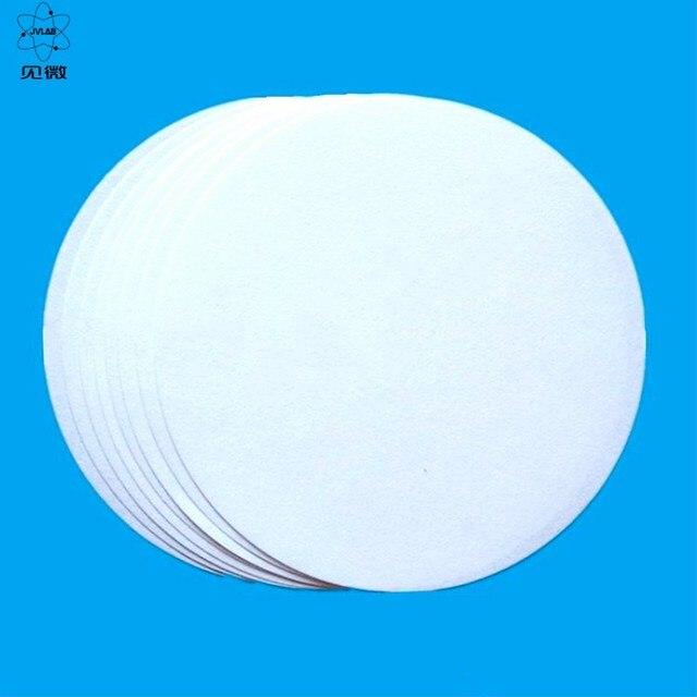 Nitel Filtre Kağıdı Çapı 18 cm Yuvarlak Yağ Algılama Filtre Kağıdı Laboratuvar Filtrasyon Kağıdı Ücretsiz Kargo 100 Adet/pk