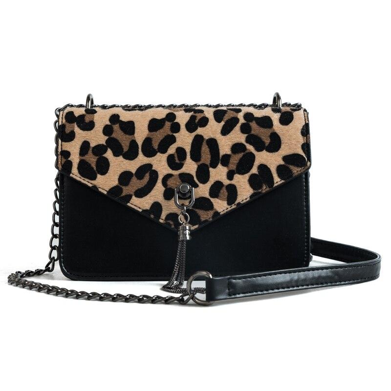 alta moda nueva apariencia 100% autenticado € 6.0 49% de DESCUENTO|Bolso con cadenas de leopardo para mujer, bolso de  mujer de marca famosa, bolso bandolera para mujer, bolso bandolera, bolso  ...