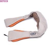 KSbelle U Shape Electrical Shiatsu Back Neck Shoulder Massager Body Infrared 3D Kneading
