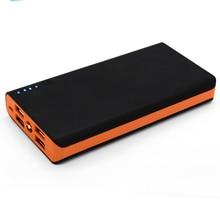 Travel Profession Led Storage Power Bank Portable Cover Shell 4 USB Ports Universal Battery Holder External Light Bracelet Case