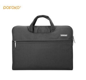 """Image 2 - POFOKO marka naylon su geçirmez dizüstü tablet kılıfı taşıma çantası kapak çanta kılıfı için 2017 Apple yeni Ipad Pro 12.9 """"inç"""