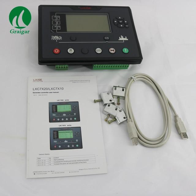 US $236.01 |LXC7210 الديزل مولد تحكم الكهربائية on