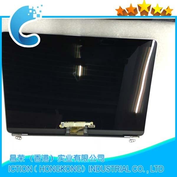 Original LCD Assembléia Screen Display para macbook 12 A1534 A1534 2015 2016 A1534 Assembléia Screen Display LCD de Cor Cinza