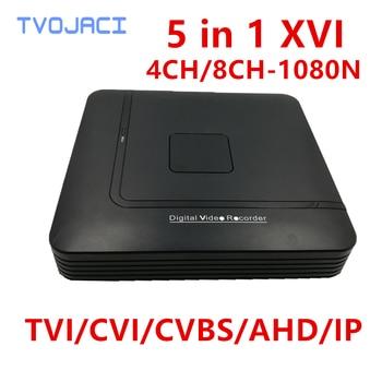 цена на AHD 1080N 4CH 8CH CCTV DVR Mini XVI 5IN1 For CCTV Kit VGA HDMI Security System Mini NVR For 1080P IP Camera Onvif DVR PTZ H.264