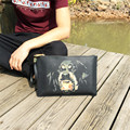 Men Day Clutches Bags Fashion Pattern PVC Casual Clutch Vintage Leather Bag Messenger Bags Envelope Party Handbag
