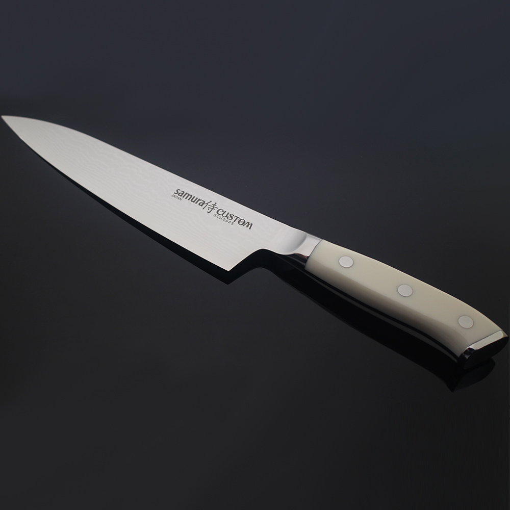 7inch Genuine Japanese VG10 Damascus Steel Chef Knife with G10 Top Grade Handle Handmade Professional Kitchen