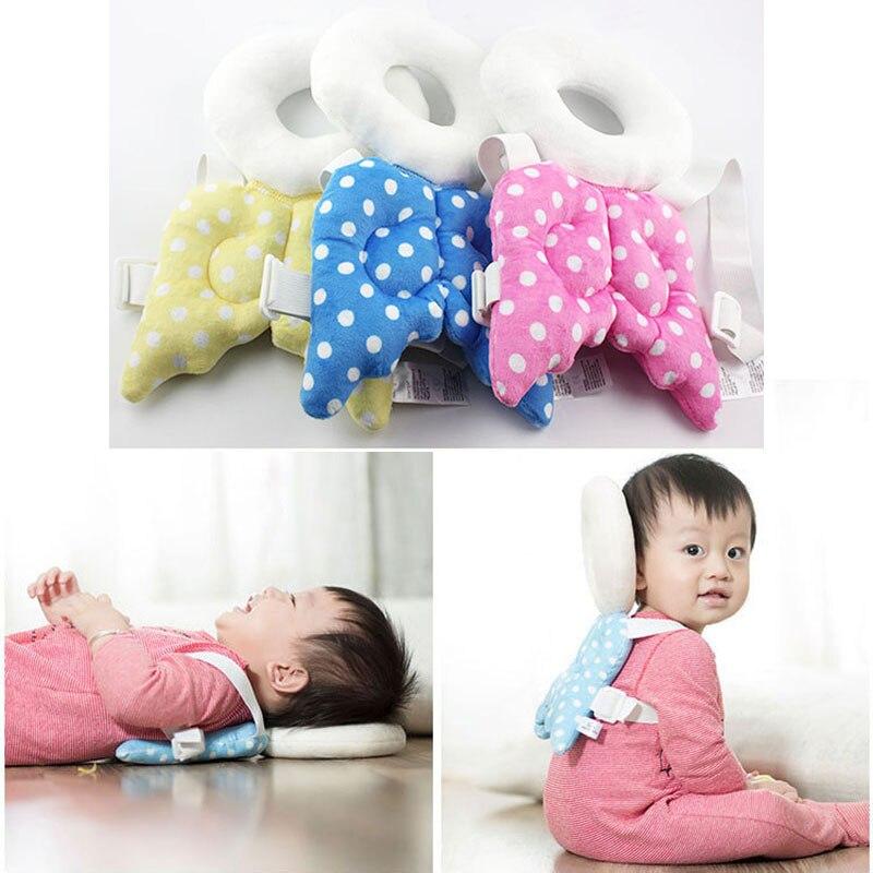 Multi-funcional Cabeza de Bebé Estera Protectora Alas de Ángel - Ropa de cama