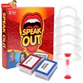 Speak Out Game Mounthpiece Challenge Game 4-5 Players Children Kids Plastic Joy Toy Ages 16+