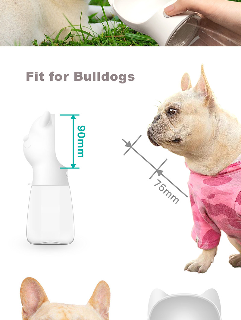 HTB1Hl10N9zqK1RjSZPxq6A4tVXam - Portable Pet Dog Water Bottle For Small Large Dogs Travel Puppy Cat Drinking Bowl