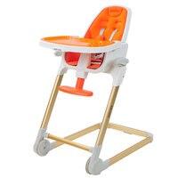Просто складной стульчик для кормления, регулируемый кормить ребенка, 4 в 1 раза сиденье