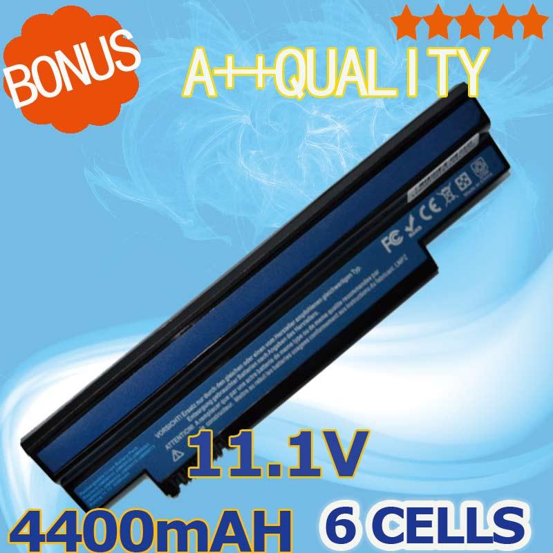 4400mAh Battery for Acer Aspire one 253H 532h 532G AO532h For eMachines 350 UM09H31 UM09H41 UM09G31 UM09H75 eM350 NAV51 NAV50