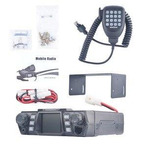Image 5 - Mobile Ham Radio Transceiver VHF 75W UHF 55W High Power Mobile Auto Radio Dual Band Quad Standby Fahrzeug transceiver Station