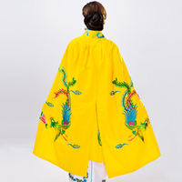Chinese Ancient Clothing Mantissas Costume Female Embroidered Cloak Performance Wear 2019New