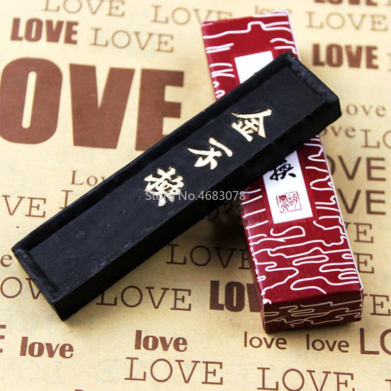 1Pcs 50g Jinbuhuan HuKaiwen Ink Bar Ink Block Cartridge For Calligraphy And Painting Chinese Calligraphy