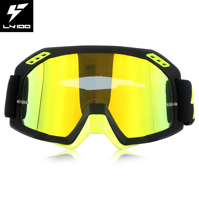 Professional American Speed Wolf LY100 Motocross Goggles Anti-Fog Clear Lens Tear offs Films Motor Bike Gafas ATV Glasses LY-51 charles auguste paillard часы charles auguste paillard 400 101 11 13s коллекция watch art iii